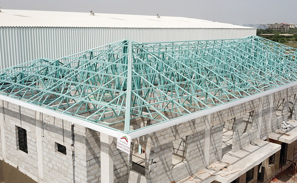 steel trusses light steel frames