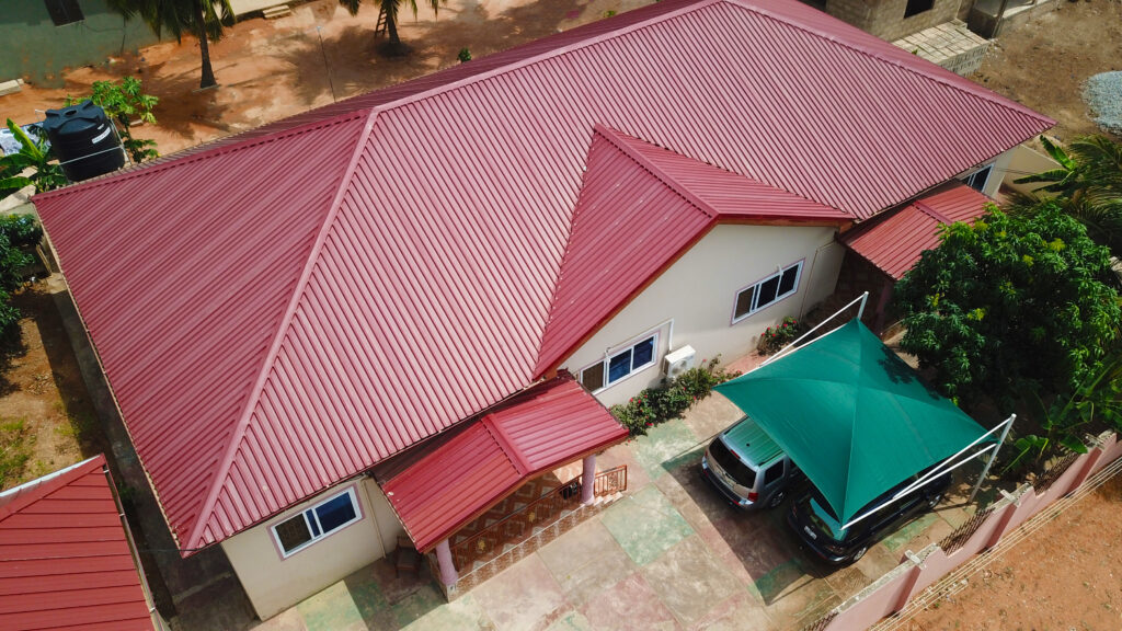 roofing sheets in Ghana, types of roofing sheets in ghana